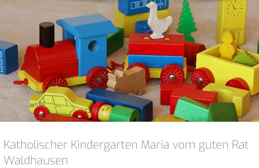 Katholischer Kindergarten Maria vom guten Rat Waldhausen